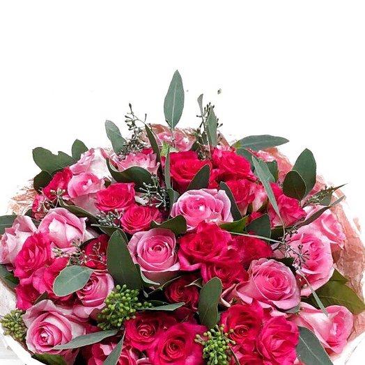 Букет «Мгновение»: букеты цветов на заказ Flowwow
