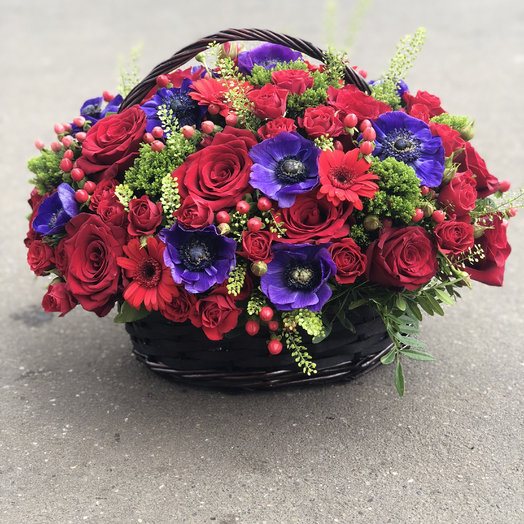 Яркие краски лета ): букеты цветов на заказ Flowwow