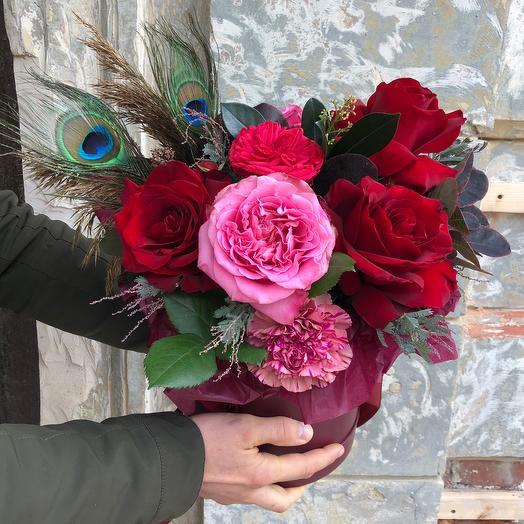 Коробка Роззи: букеты цветов на заказ Flowwow