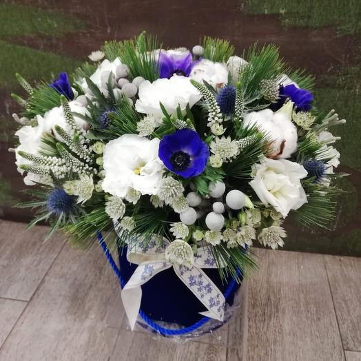 Морозная зима: букеты цветов на заказ Flowwow