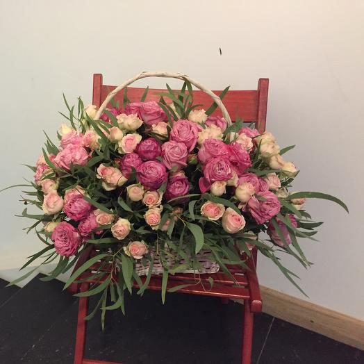 Корзина 12: букеты цветов на заказ Flowwow