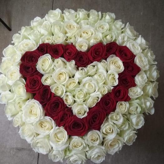 Чудо любовь: букеты цветов на заказ Flowwow