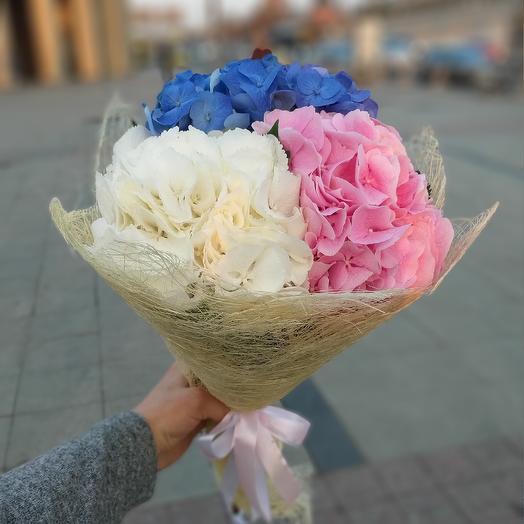 Ванильные облака: букеты цветов на заказ Flowwow