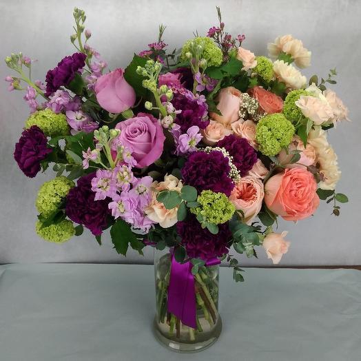 Поцелуй феи: букеты цветов на заказ Flowwow