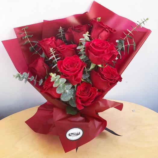 Mini rose bouquet: flowers to order Flowwow