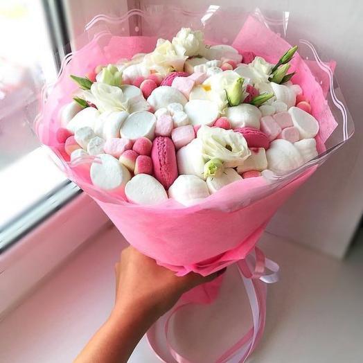 Сладкое очарование: букеты цветов на заказ Flowwow