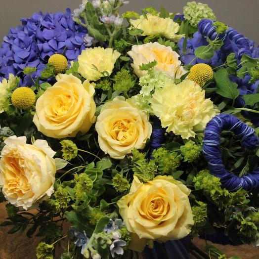 """Ван Гог """"Звёздная ночь"""": букеты цветов на заказ Flowwow"""
