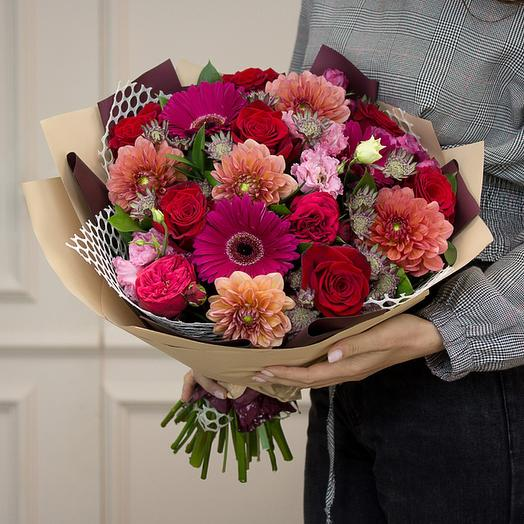 """Букет """"Лето в подарок"""": букеты цветов на заказ Flowwow"""