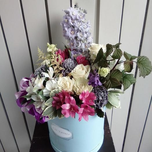 Коробка Космо: букеты цветов на заказ Flowwow