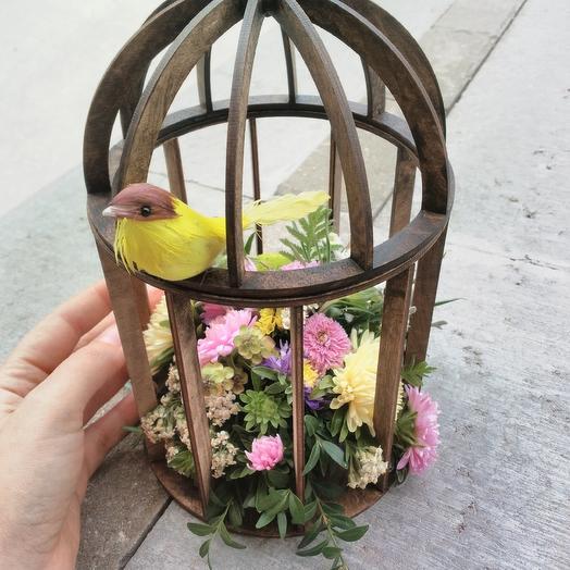 Птичка: букеты цветов на заказ Flowwow