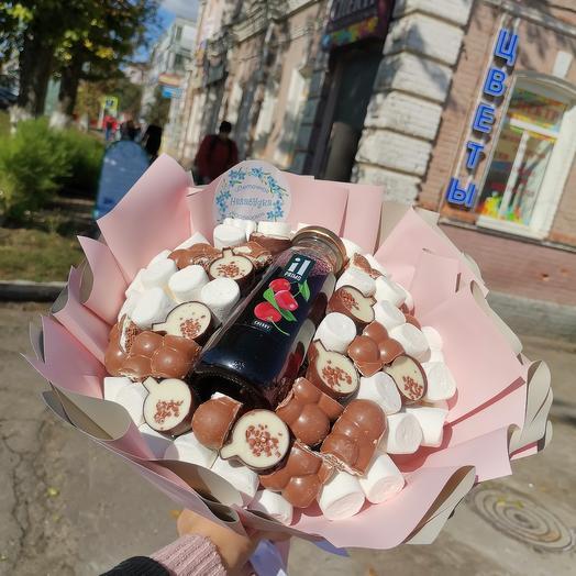 Шоколадный букет: букеты цветов на заказ Flowwow