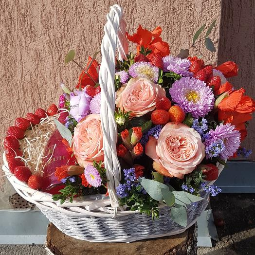 Вкусный подарок: букеты цветов на заказ Flowwow