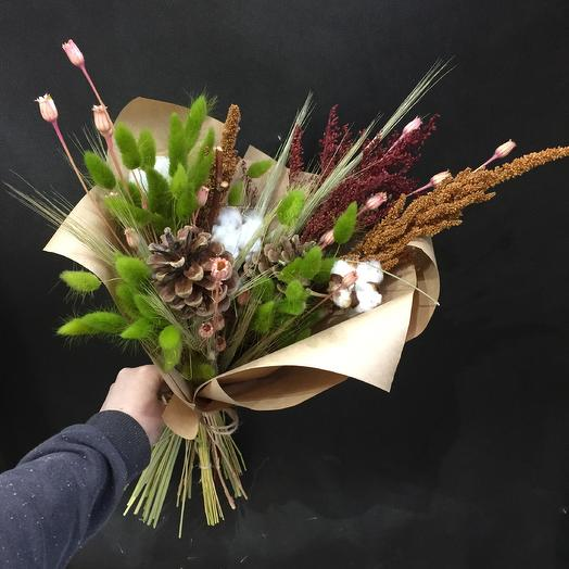 Лесной дух: букеты цветов на заказ Flowwow