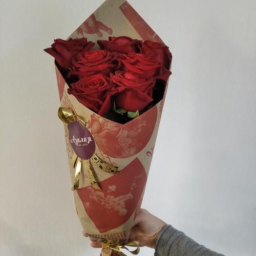 Роза-символ совершенства: букеты цветов на заказ Flowwow