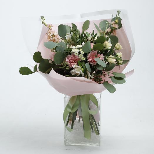 Букет «Розовые ушки»: букеты цветов на заказ Flowwow