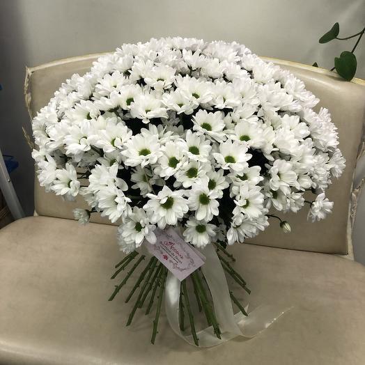 Букет из 31 кустовой хризантемы: букеты цветов на заказ Flowwow