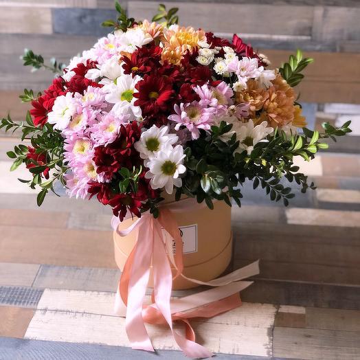 Радуга из ромашек: букеты цветов на заказ Flowwow