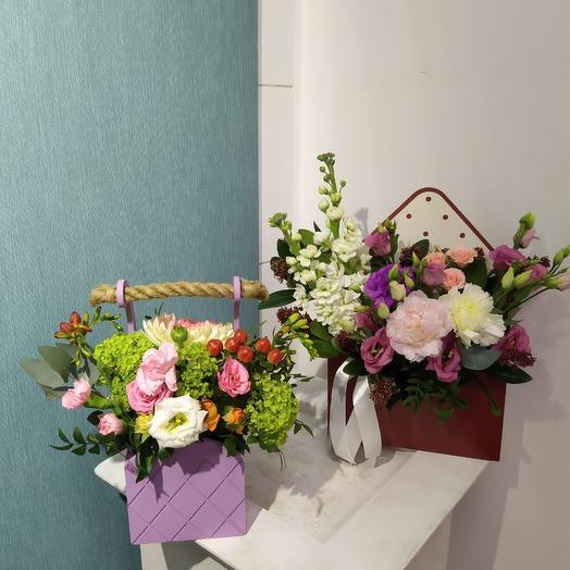 Набор композиций: букеты цветов на заказ Flowwow
