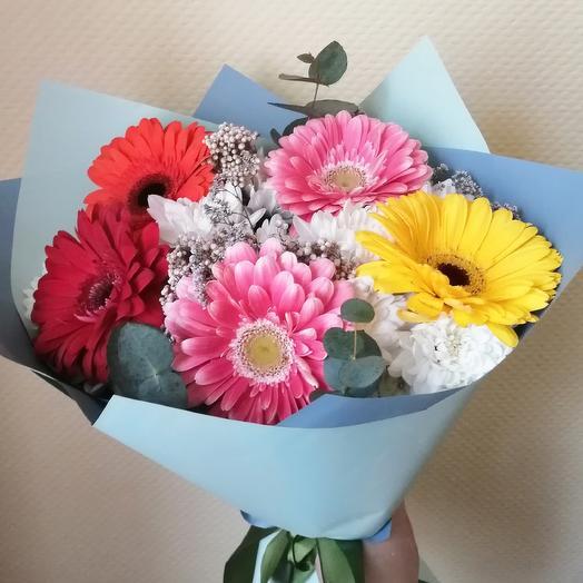 Яркий букет: букеты цветов на заказ Flowwow