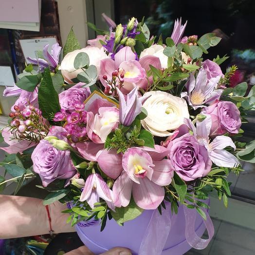 Каробка: букеты цветов на заказ Flowwow