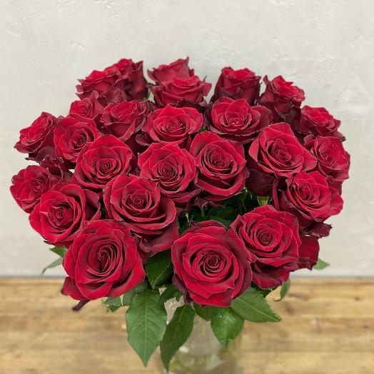 Красная Роза 70 см Эквадор