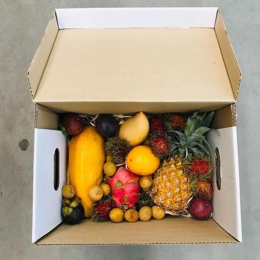 Коробка экзотических фруктов «Самуи»