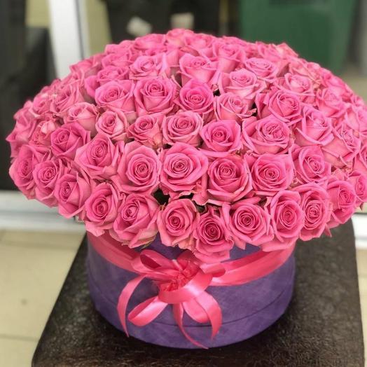 Коробка из 101 розы