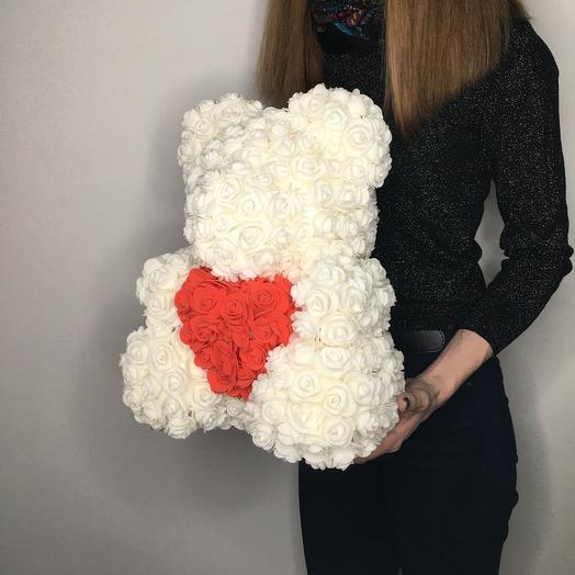 Lady Flowers  - мишка «Снежок»