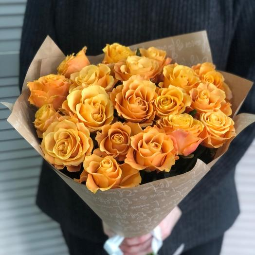 Роза 19 шт