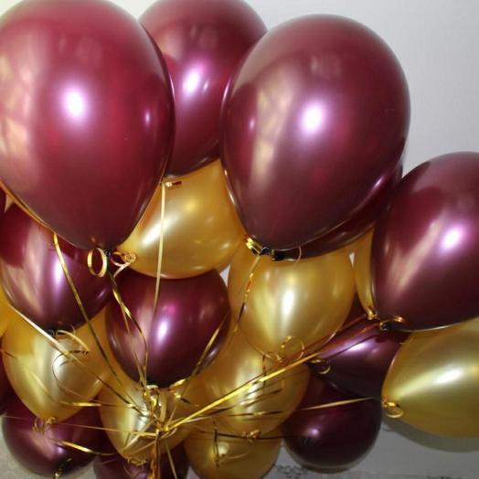 Сет из 7 шаров с гелием