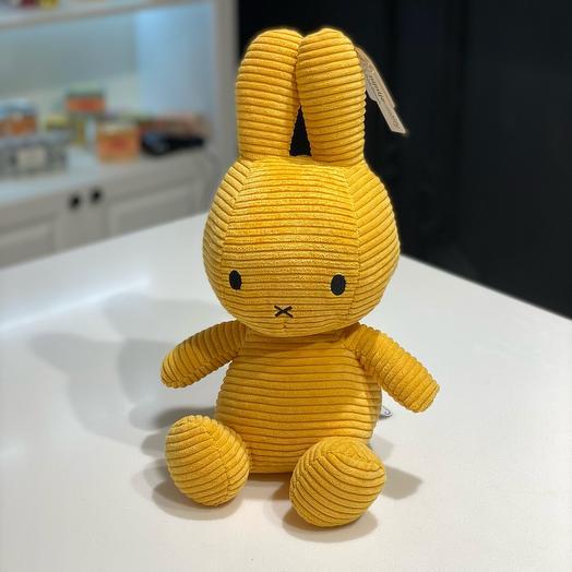 Зайка Miffy желтый