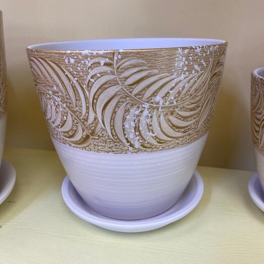 Горшок керамический d 18 см
