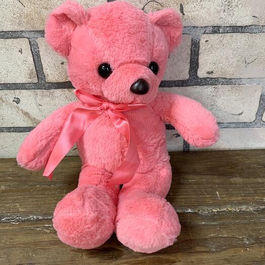 Миша розовый