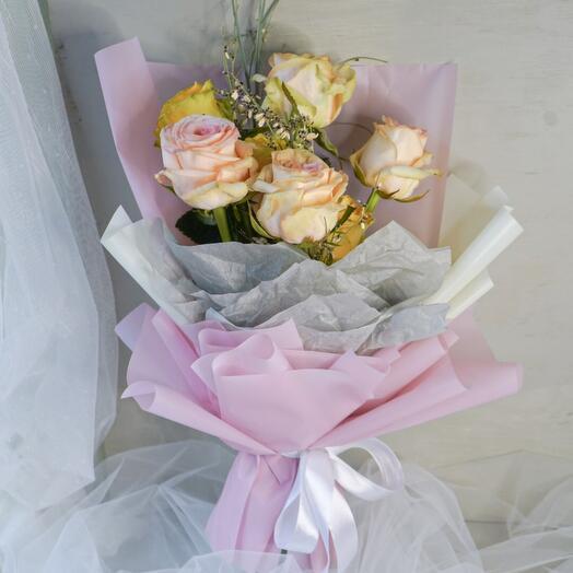 """Букет из роз """"Romantic"""""""