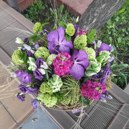 Букет цветов Художественный