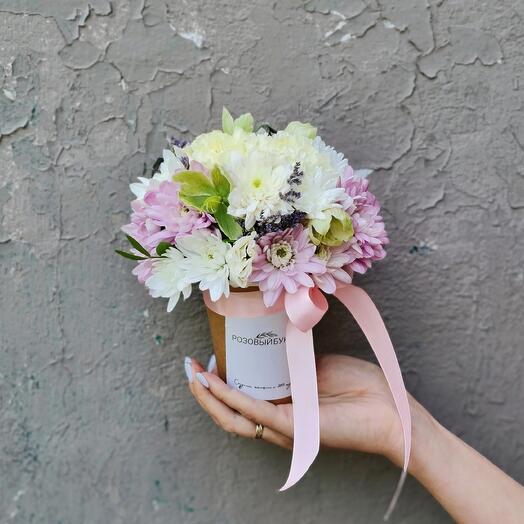 Цветы в стаканчике 1