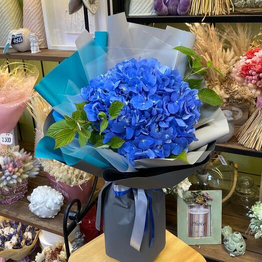 Букет цветов «Голубая мечта»