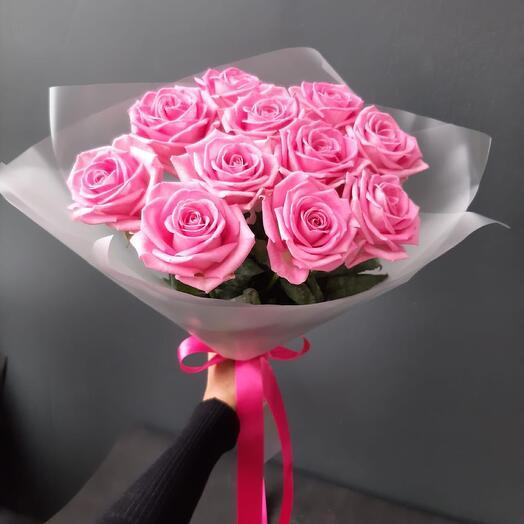 11 Роз Аква в матовой пленке