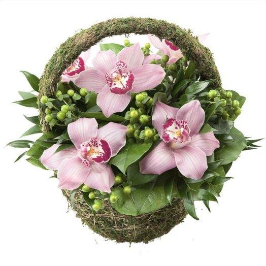 БЦ-160167 Корзина для Арины: букеты цветов на заказ Flowwow