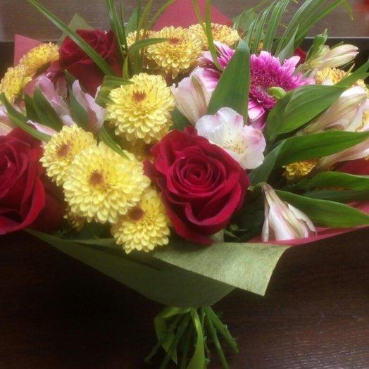 Цветочный взрыв: букеты цветов на заказ Flowwow
