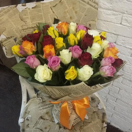 ПОВЕСЕЛИМСЯ!: букеты цветов на заказ Flowwow