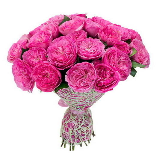 """Букет из пионовидных роз """"Мария Тереза"""": букеты цветов на заказ Flowwow"""