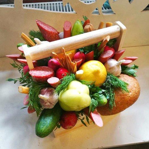 Колбасный ящик: букеты цветов на заказ Flowwow
