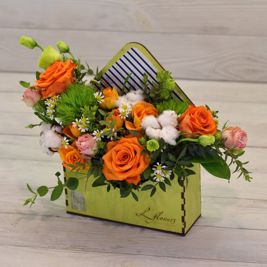 Letter from Casablanca: flowers to order Flowwow