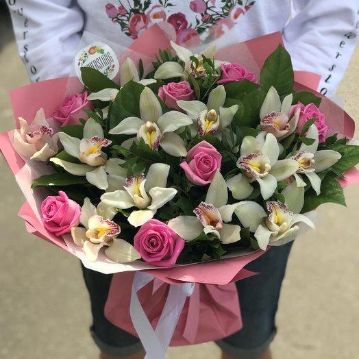 Орхидея, Розы. N229