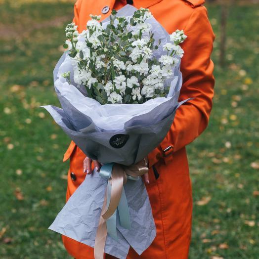 Маттиола белая: букеты цветов на заказ Flowwow