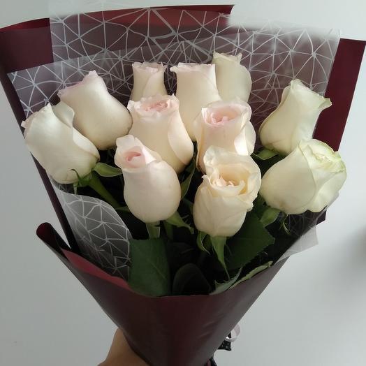 Букет из роз (эквадор): букеты цветов на заказ Flowwow