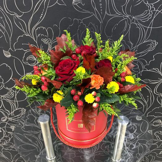 Золотая осень: букеты цветов на заказ Flowwow