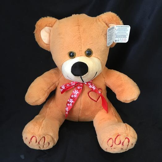 """Плюшевый медведь Мирон"""": букеты цветов на заказ Flowwow"""