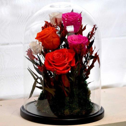«Я ДАРЮ ТЕБЕ СВОЕ СЕРДЦЕ» - БУТОНЫ, МОХ И ДЕКОР: букеты цветов на заказ Flowwow